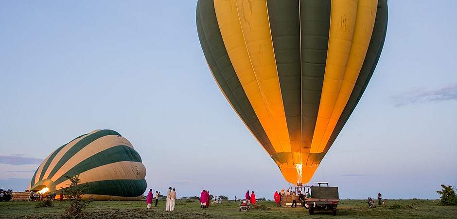 Balloon ride masai mara cost