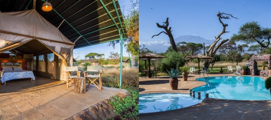 Sentrim Amboseli Lodge Safari