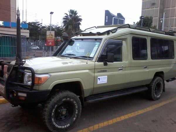 4X4 Land Cruiser Safari