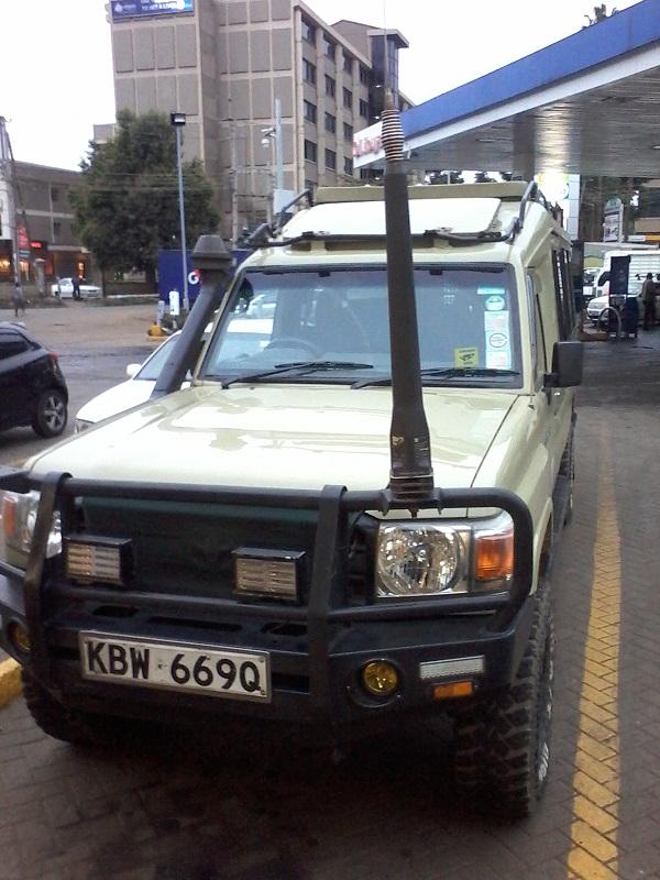 4X4 Safari Land Cruiser