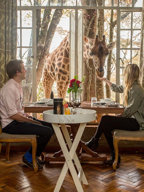 Giraffe Manor Cost
