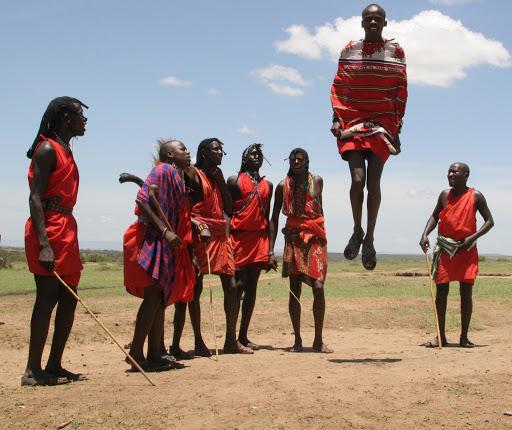 Visiting a Maasai Village