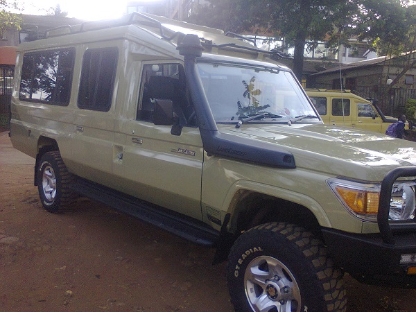 Land Cruiser Safari for Hire Masai Mara